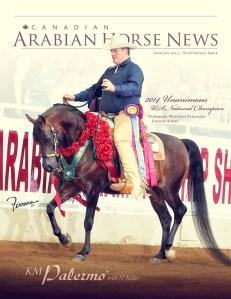 Canadian Arabian Horse News Jan 2015