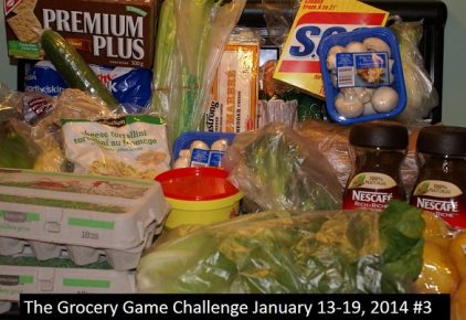 grocery game challenge 3 January 2014