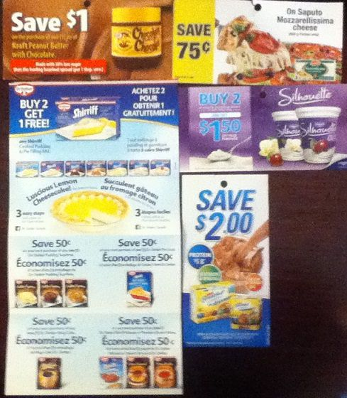 Canadian Coupons Grocery Game Challenge