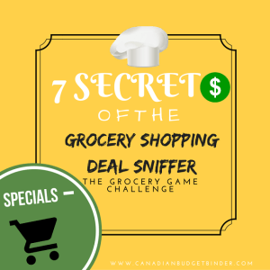 7 secrets of the grocery shopping deal sniffer