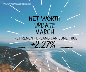 Net Worth Update March 2016 CBB