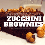 Best Low Carb Chocolate Frosted Zucchini Brownies
