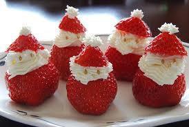Santa Strawberries