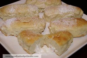 Tray of Mr.CBB's Cream Filled Homemade Twinkies