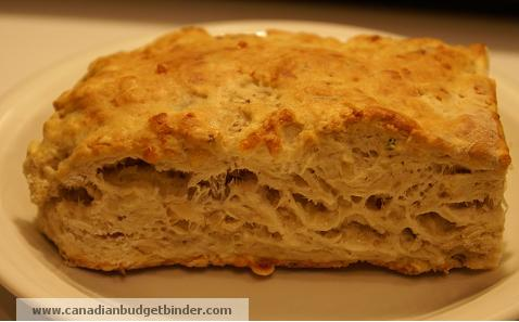 Walnut and White Cheddar Biscuit
