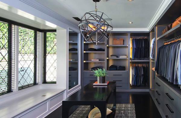 A man's dream closet
