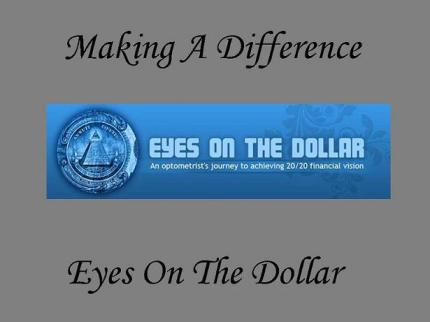 Making A Difference eyes on the dollar 2