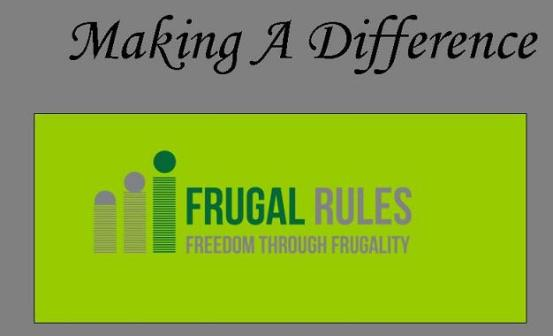 Making A Difference Frugal Rules 2