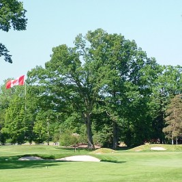 The 16th hole at St. George's.