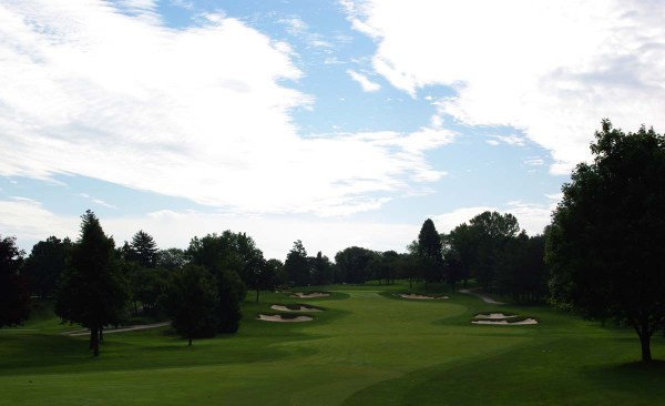 16th hole at Weston Golf Club