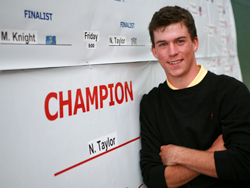 Exam Time: Abbotsford, B.C.'s Nick Taylor struggled at Q School again this year.