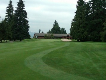 Vancouver Golf Club's terrific long two-shot closer.