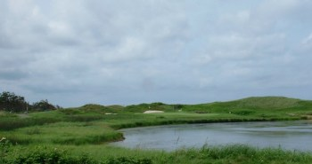 The 8th at Crowbush Cove -- the best of PEI's struggling golf properties