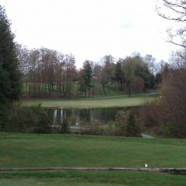 Blue Springs -- the 8th is one of the standouts on a  course with several awkward holes.