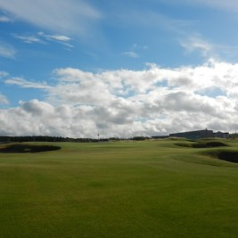 Cabot Links in Inverness, NS: Interesting and intriguing enough to make you want to run right back out and tip it up again.