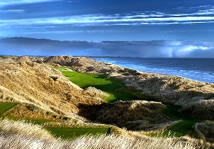 Trump International's 14th hole, Scotland