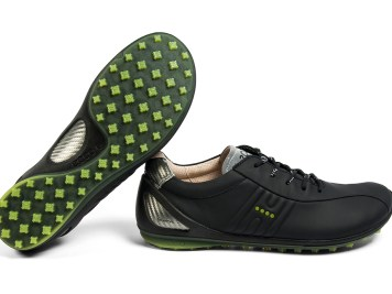 ECCO SS13 BIOM Zero - Black-Lime Punch 2