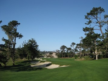 The inland 6th hole.