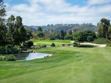 Par-5 8th hole at Aviara Golf Club