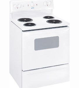 MCBS523RWW Moffat 30 Free Standing Electric Range Coil White