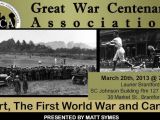 "20 March – ""Sport, The First World War and Canada"" by Matt Symes"
