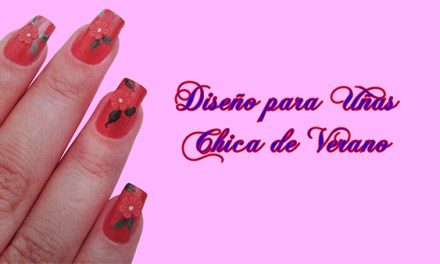 Fotos o Imagenes de Uñas Decoradas, Manicure, Diseño de Uñas Chica de Verano paso a paso 13