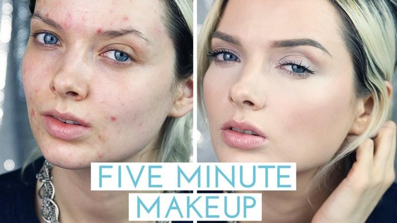 maquillaje para tapar acne