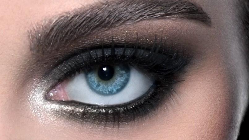 ojos ahumados paso a paso tutorial