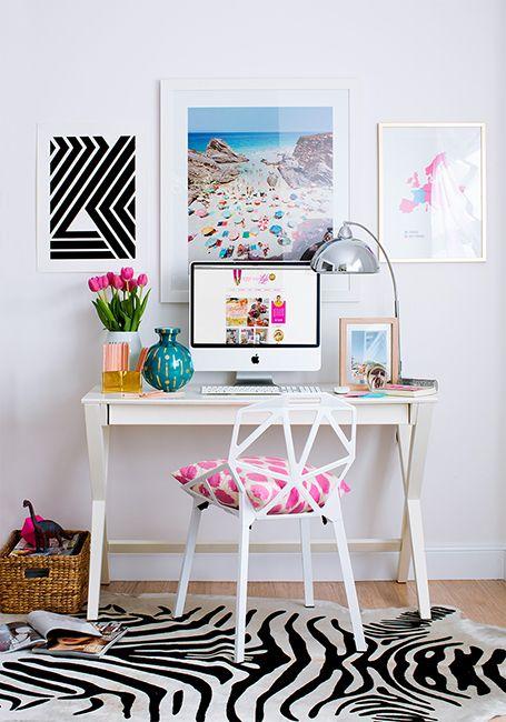 como decorar tu oficina con poco dinero