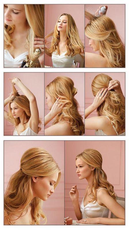 80 peinados sencillos para fiestas - pelo corto y largo