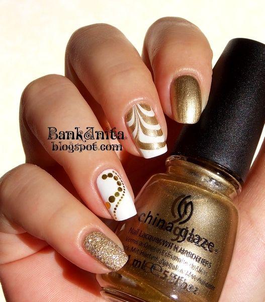 decoración de uñas con agua 7