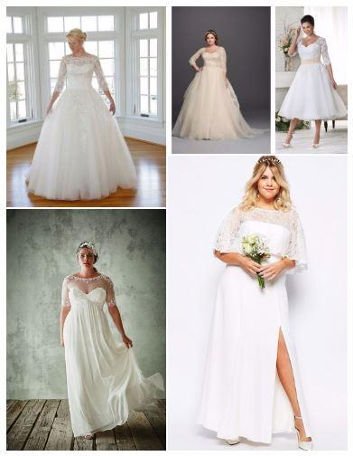 Vestidos de novia para gorditas bogota precios