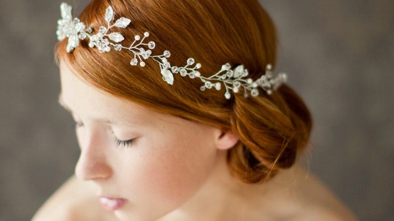 peinados de novia para cara ovalada