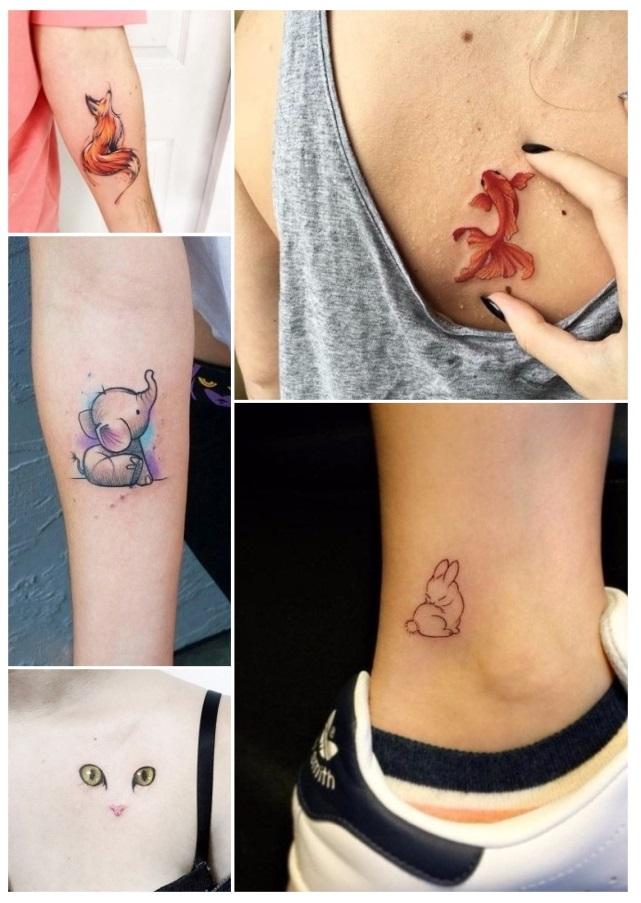 Diseños de tatuajes para mujeres de animales
