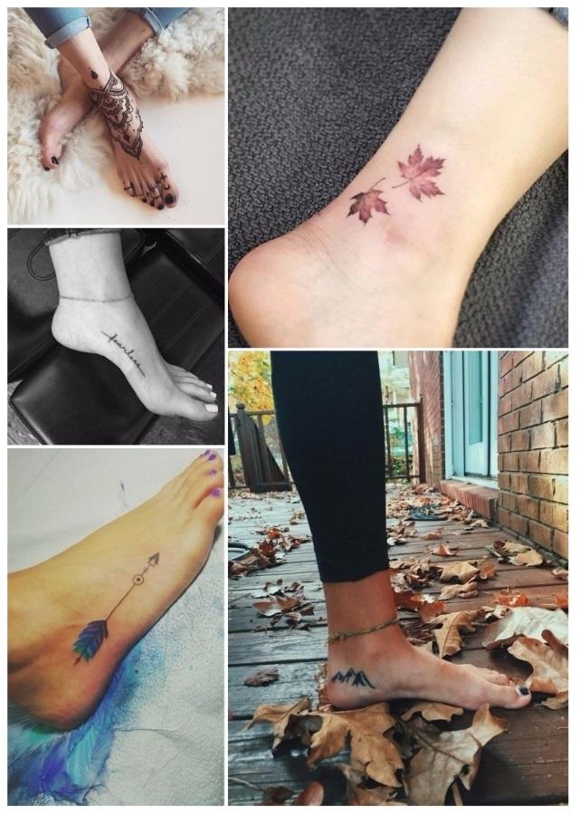 Diseños de tatuajes para mujeres en el pie