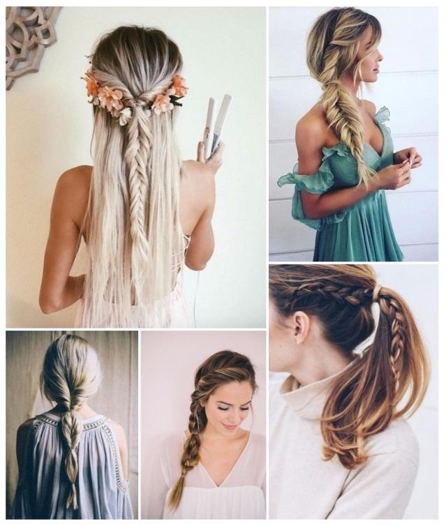 ejemplos de peinados con trenzas - Peinados De Trenzas