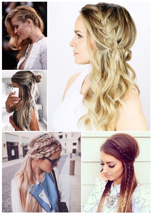 fotos de peinados con trenzas