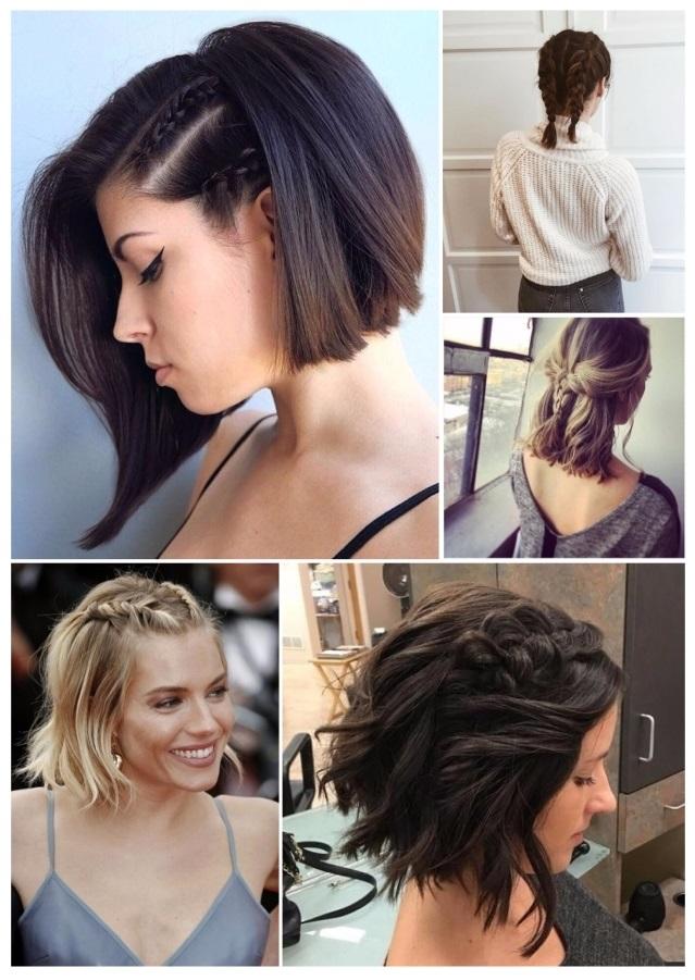 distintos peinados con trenzas