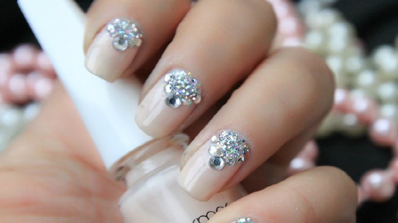 diseños de uñas elegantes para boda