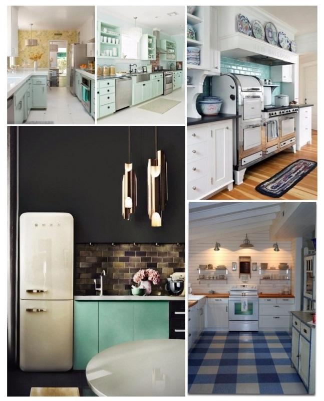 20 ideas de decoraci n para cocinas vintage que amar s for Cocinas vintage modernas