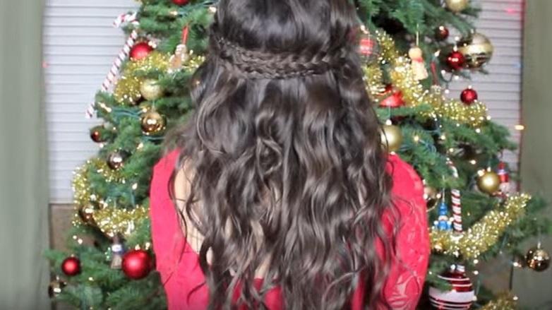 peinados para Navidad 2016 sencillos