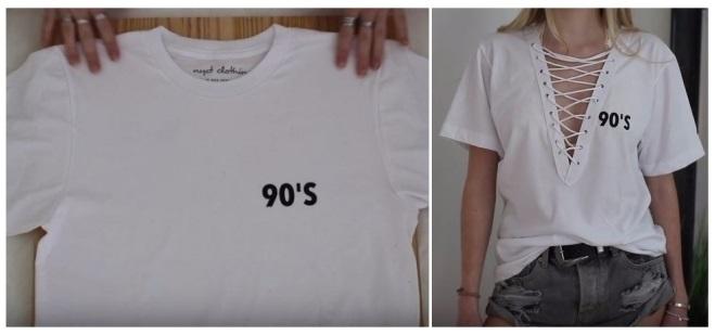 como reciclar tus camisetas viejas diy