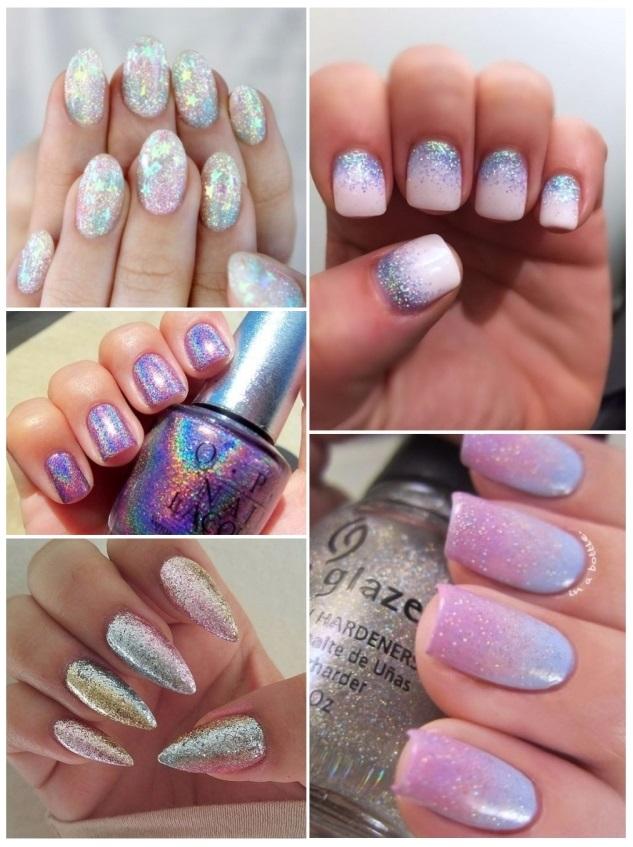 unicornio en uñas