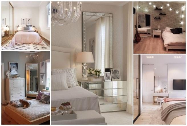 Decorar con espejos 40 preciosas ideas para tu hogar - Espejos en dormitorios ...