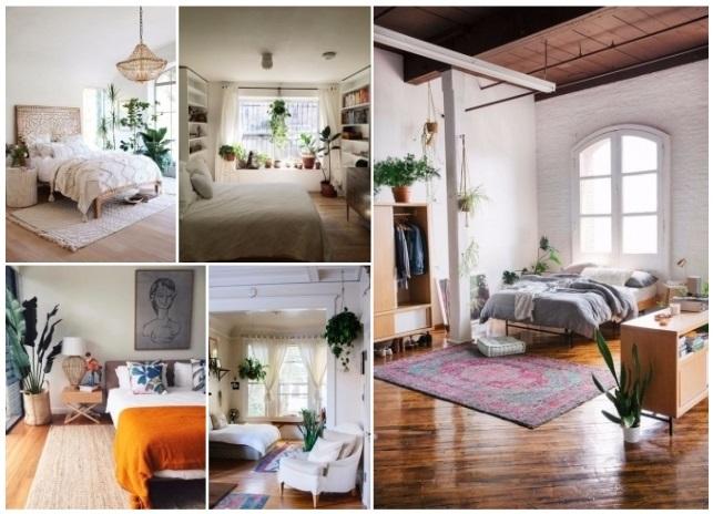 como decorar una sala con plantas naturales