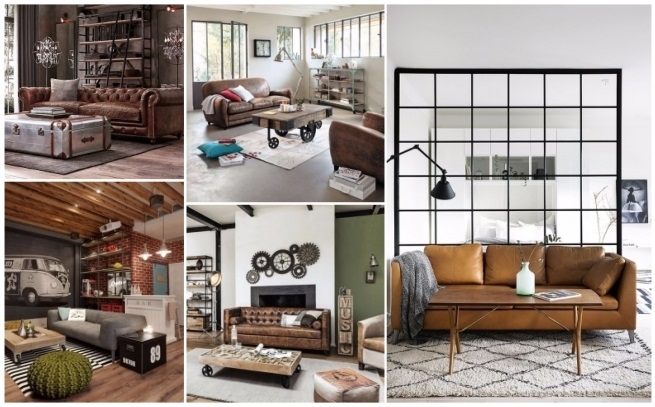 Decoraci n estilo industrial ideas para modernizar tu casa for Decoracion retro industrial