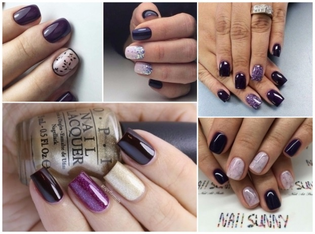 Decoración de uñas moradas: ¡+40 diseños fáciles de hacer!