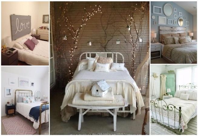 Decoraci n de rec maras vintage lindas ideas para tu for Recamaras matrimoniales vintage