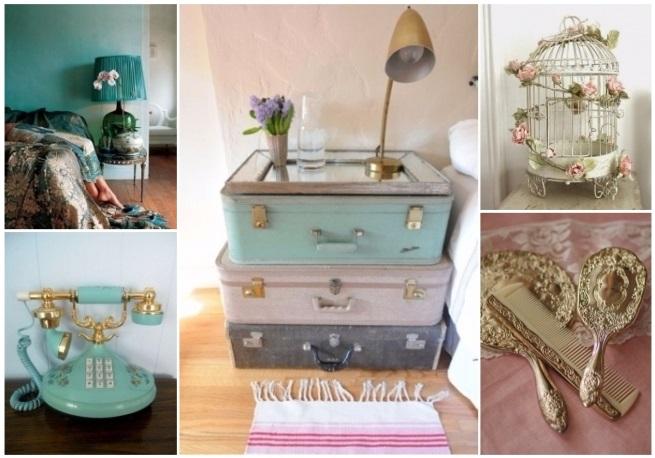 decoración de recámaras vintage 9