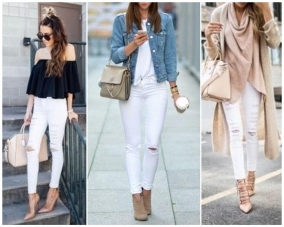 Como combinar un pantal n blanco 15 looks incre bles - Como hacer blanco roto ...
